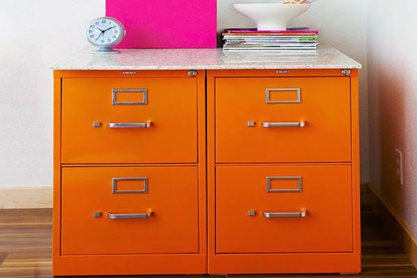 Adorable Filing Cabinet Makeover Ideas ~ Homeagination