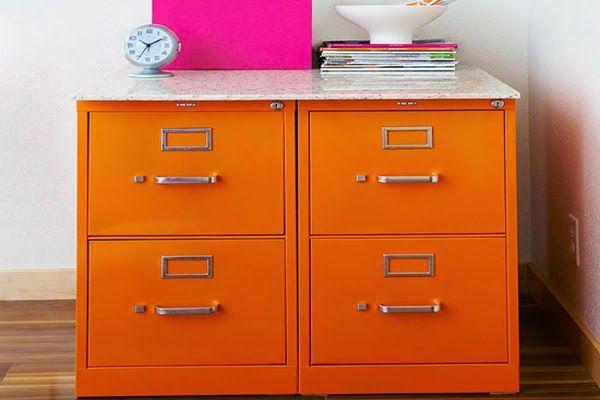 Adorable Filing Cabinet Makeover Ideas ~ Homeagination
