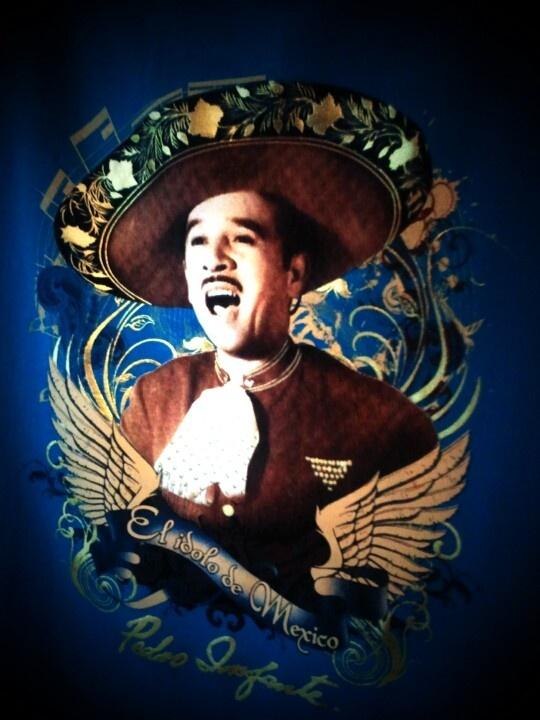Pedro Infante NO ha muerto. Tomada en el #MUTEM, #Mexico