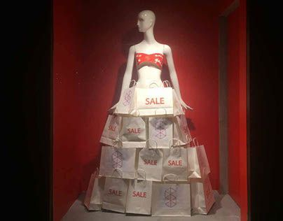 """Check out new work on my @Behance portfolio: """"Window display——SALE"""" http://be.net/gallery/36302441/Window-displaySALE"""