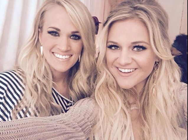 My girls! Both Carrie Underwood and Kelsea Ballerini