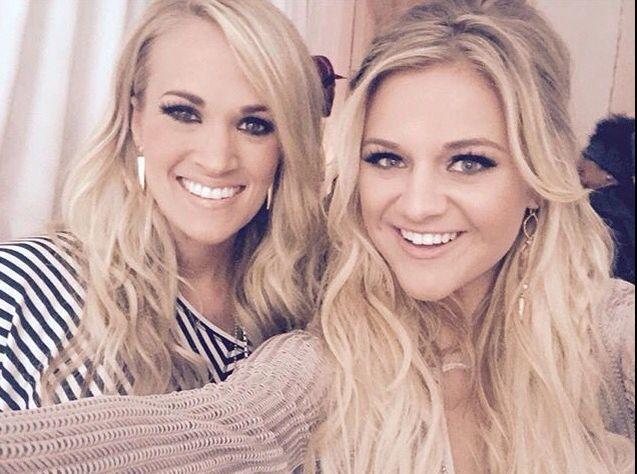 My girls! Both Carrie Underwood and Kelsea Ballerini