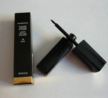 Brand New Quality Waterproof Eyeliner Liquid type Makeup eye liner Black and white liner long lasting Drop shipping