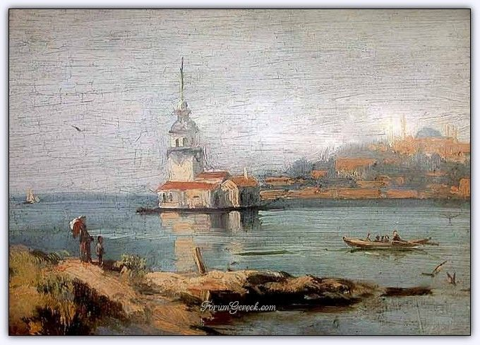 Süleyman Seyyid (1842 - 1913)   Osmanlı Dönemi Türk Ressamı-