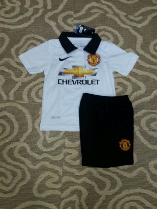 Manchester United Away Football Shirts 2014/15 for Kids