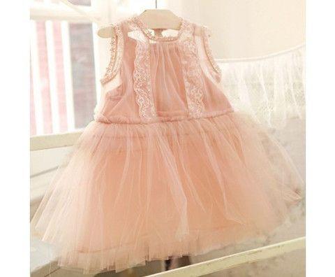Joelle Pink Lace Dress - Loved by Chloe