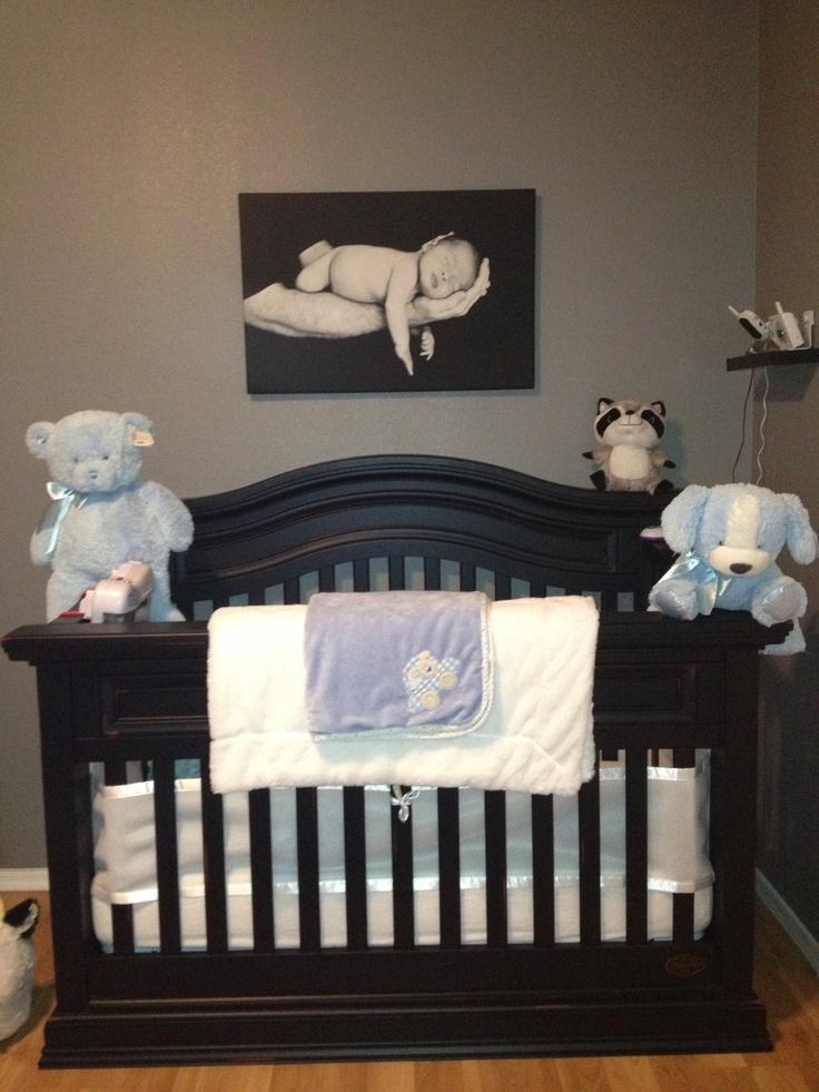 Black Baby Crib Bedding