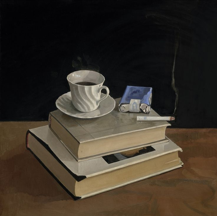 Coffee and Cigarette, giclee print on paper, 2014