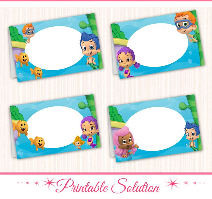 181 Best Bubble Guppies Party/ 1 Year Old Images On Pinterest