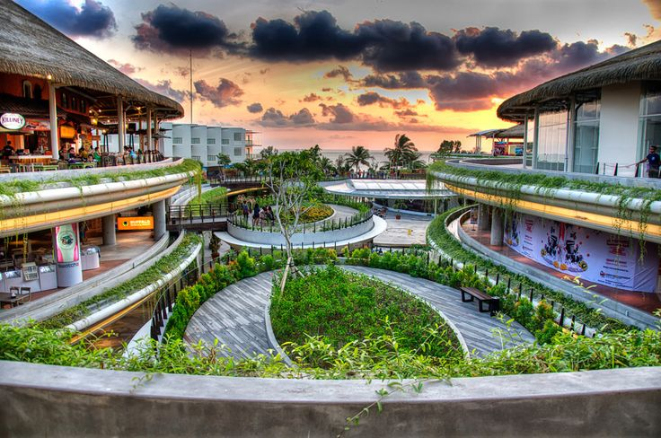Another famous shopping center in Bali is @beachwalk_bali  they have a lot of branded outlets and restaurants. This place can be an option during your visit to Bali.