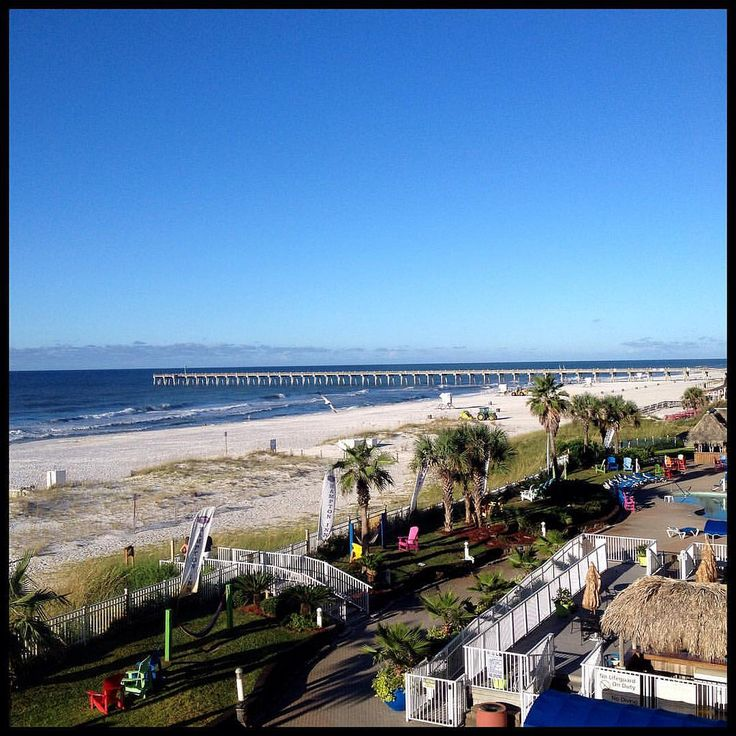 Pensacola Beach, to the right  #pensacola # #beach #florida #hotel #balcony