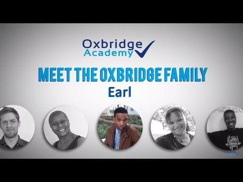 Meet The Oxbridge Academy Family - Earl - YouTube