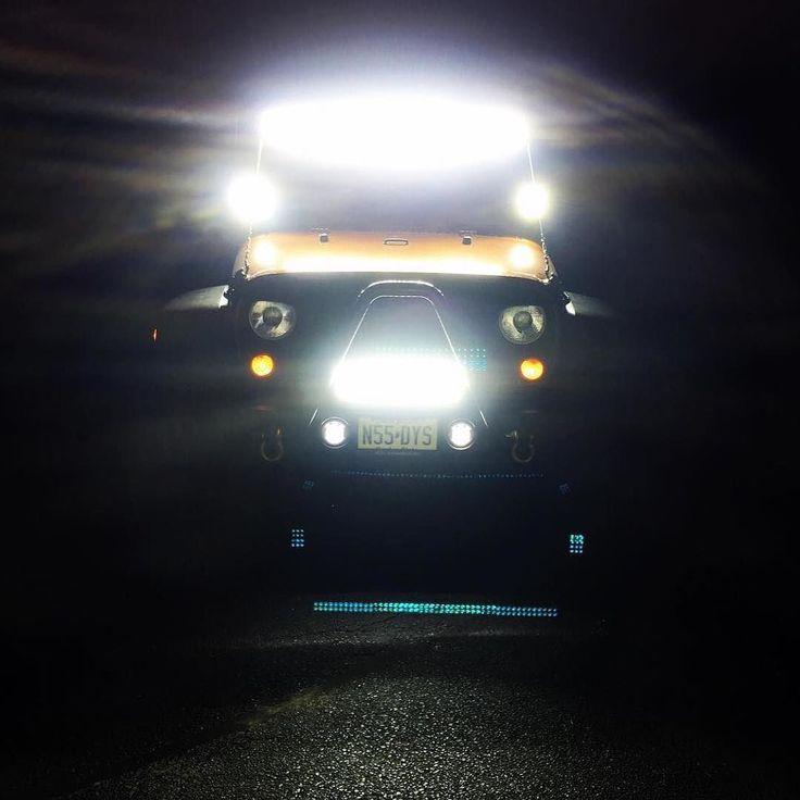 Auxbeam led light bar. Check www.auxbeam.com find best led light bar for your Jeep Wrangler. #Auxbeam