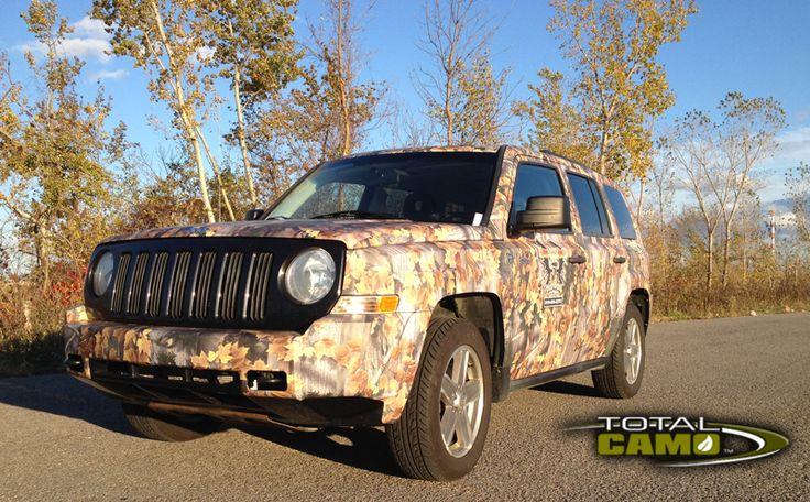 X-Forest #camo #vehicule #wrap