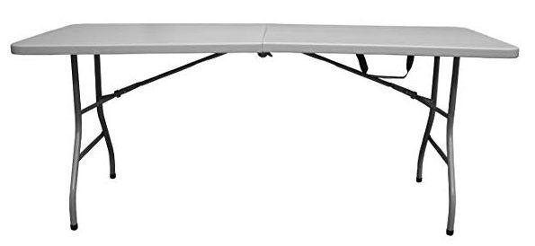 Snap Drape 6 Foot 400 Lbs Folding Table Walmart Table Home