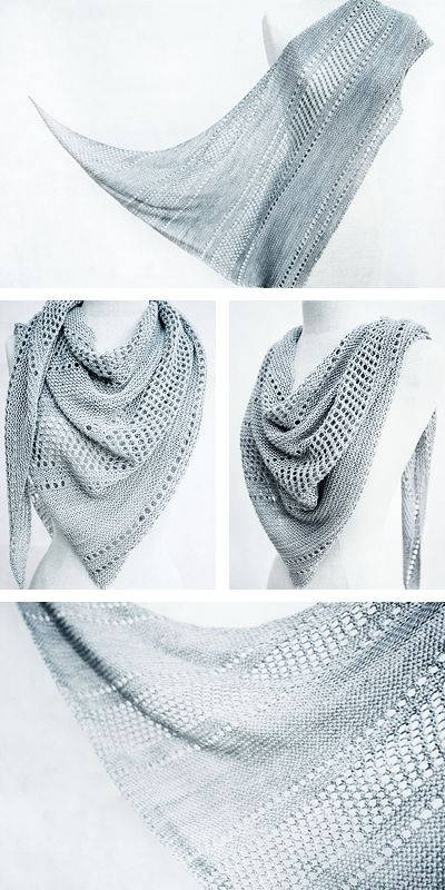 Ravelry: Ardent shawl with Kettle Yarn Co. ISLINGTON - knitting pattern by Janina Kallio.