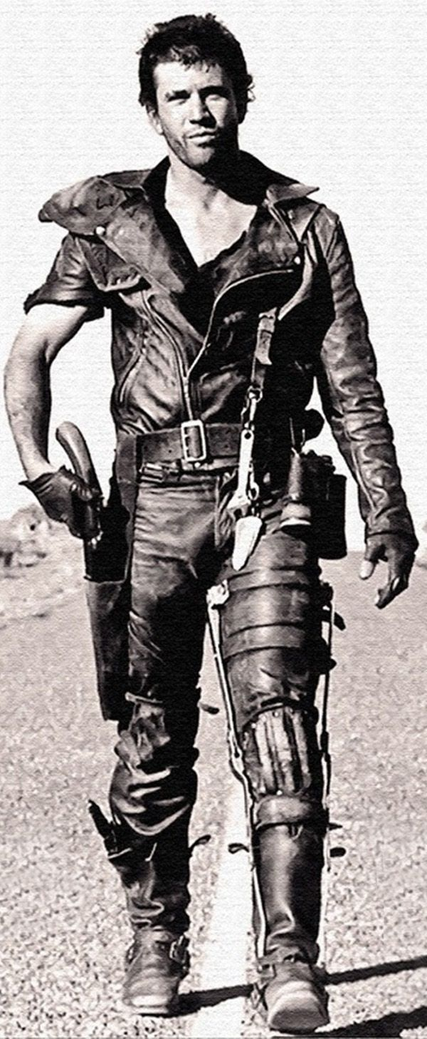 """My life fades. The vision dims. All that remains are memories. I remember a time of chaos... ruined dreams... this wasted land. But most of all, I remember The Road Warrior. The man we called """"Max."""" Mel Gibson in Mad Max."""