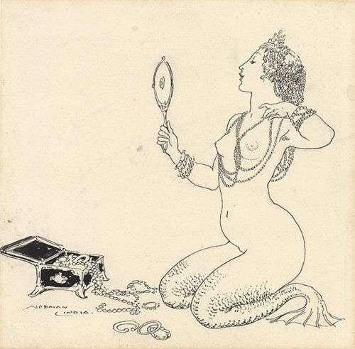 Mermaid, Norman Lindsay