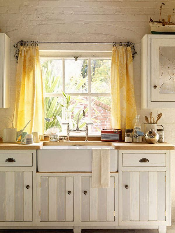 Best 25 Yellow kitchen curtains ideas on Pinterest Easy