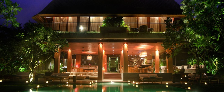 Balinese villa, main pool