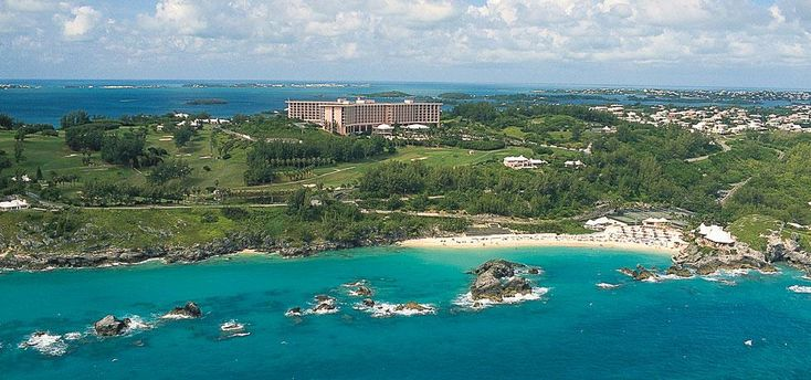 Exterior from the Ocean-Fairmont Southampton,Bermuda