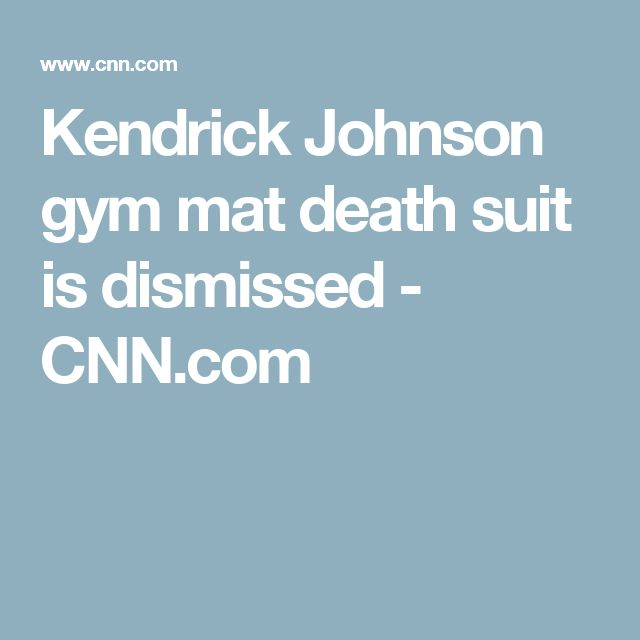 Kendrick Johnson gym mat death suit is dismissed - CNN.com