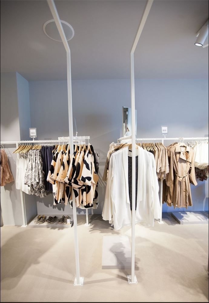 The new store in Denmark, Horsens that opened the first of May is so beautiful. Here is a picture of what you can find inside.  #Vilaclothes #vila #horsens #retail #vilaclotheshorsens