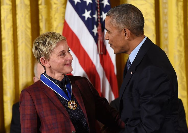 Watch Ellen DeGeneres's Beautiful, Funny, Moving Tribute to the Obamas