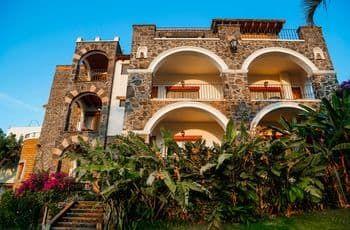 Hotel Posada Del Tepozteco, Tepoztlán, Fachada del hotel