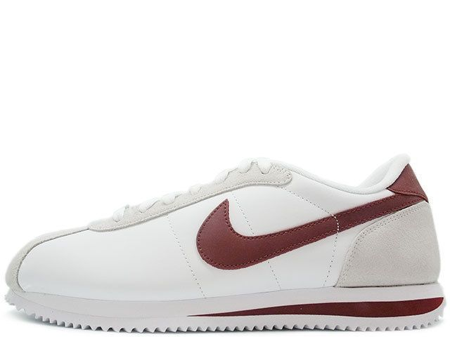 NIKE CORTEZ BASIC LEATHER 06 White/ team red great summer shoe classic size 9  #Nike #RunningCrossTraining