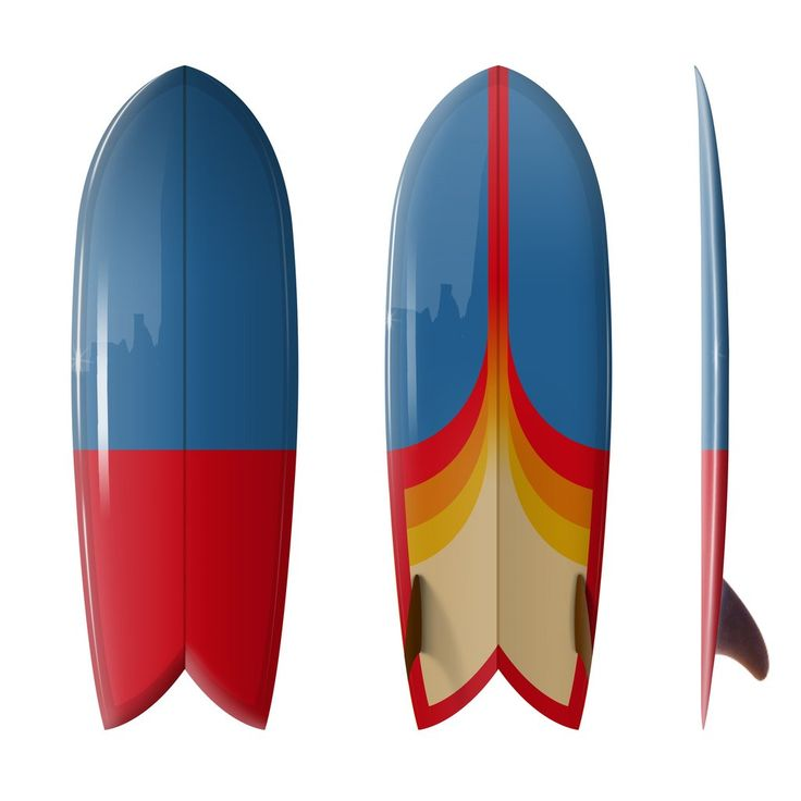 28 best cool surfboards designs images on pinterest for Best fish surfboard