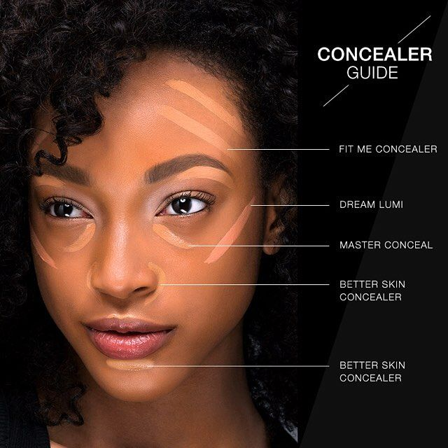 maybelline fit me color guide
