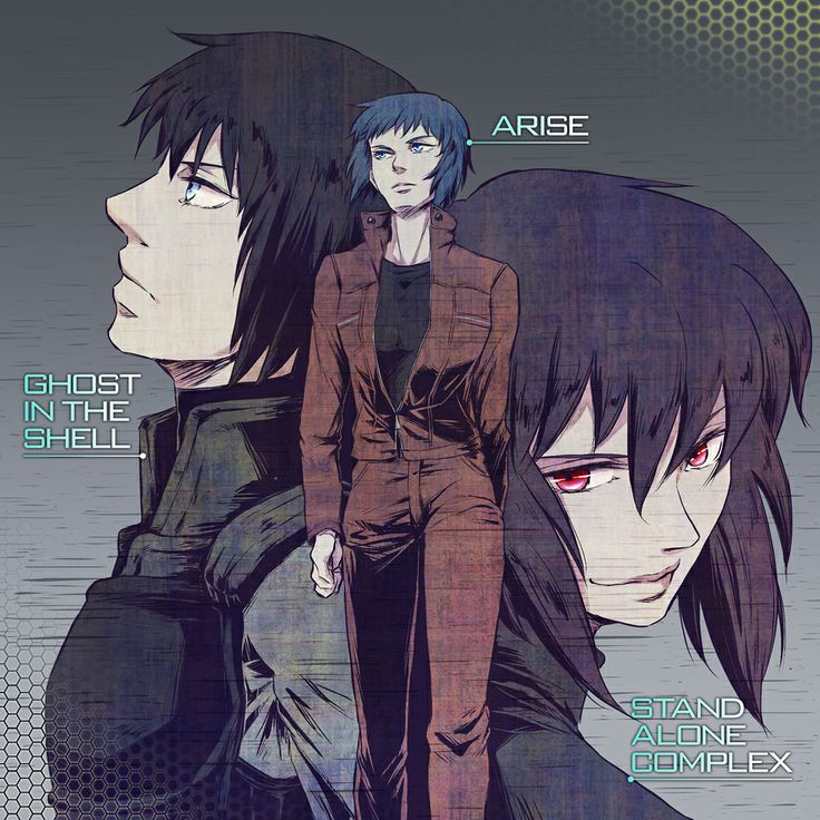 Ghost In The Shell #Arise #StandAloneComplex