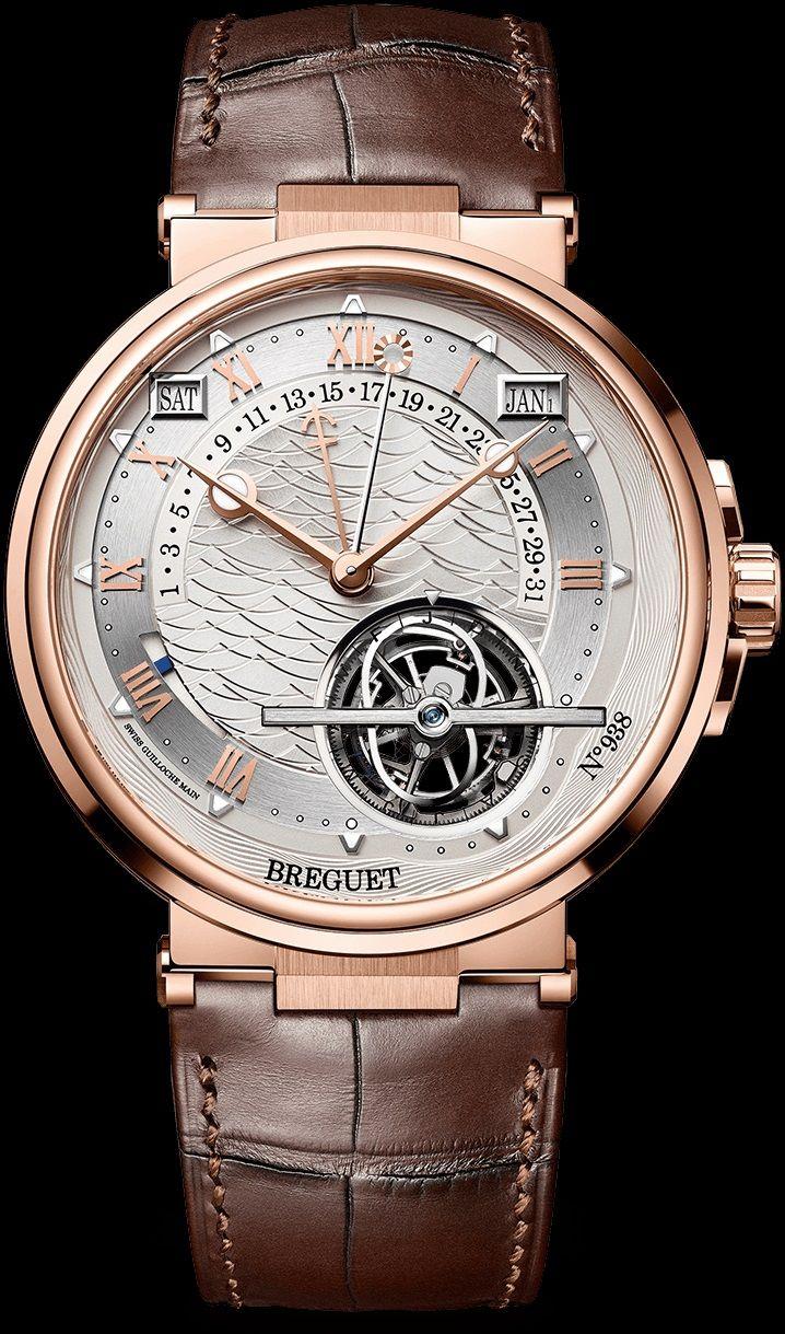 Breguet Marine Équation Marchante 5887 - Rose Gold - Equation of Time Perpetual Calendar Tourbillon - Perpetuelle