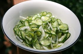 vita nostra: Sweet and Sour Cucumber Dill Salad