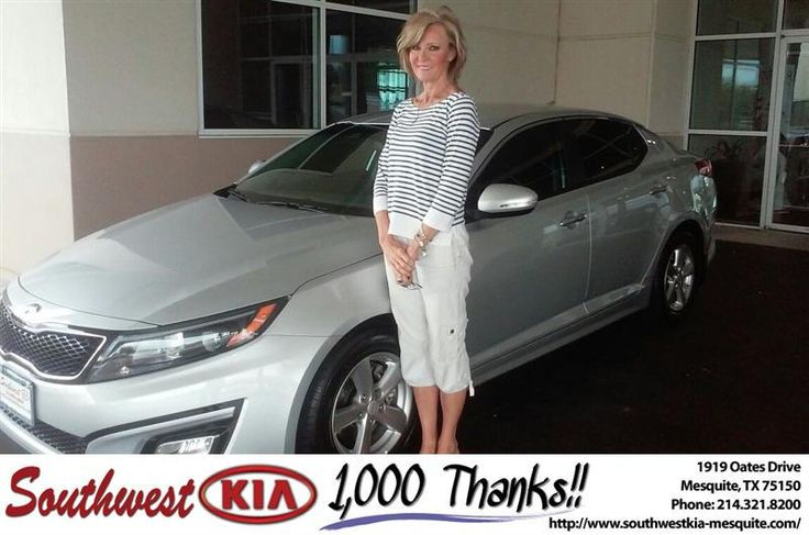 Congratulations to Madelyn Lynch on your #Kia #Optima purchase from Mike  Stanton at Southwest Kia Mesquite! #NewCar