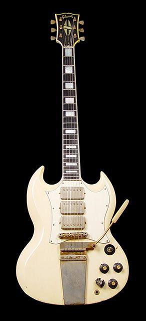 Gibson SG 1967 of Jimi Hendrix