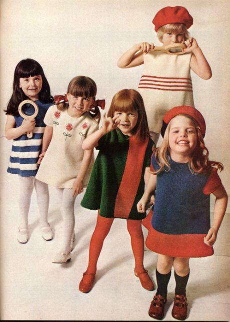 Vintage knits for kids