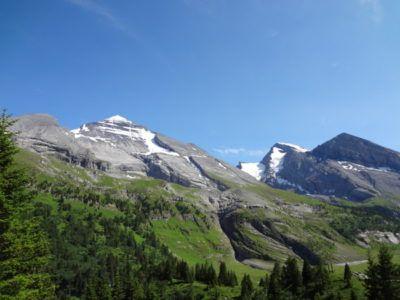Altels Balmhorn Rinderhorn Hochtour Klettern Kandersteg Berner Oberland