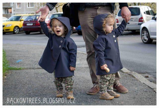 Back on Trees: Softshellové kabátky pro batolata