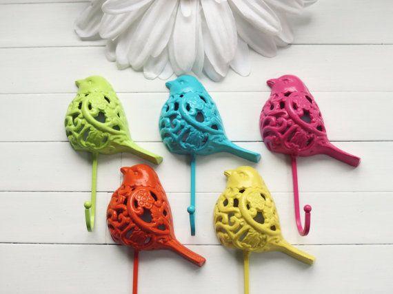 printemps organiser luminaires nursery d cor crochets bois d cor oiseau crochet en. Black Bedroom Furniture Sets. Home Design Ideas