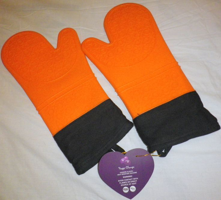 Cooking Gloves - Silicone Heat Resistant - Happi Champs