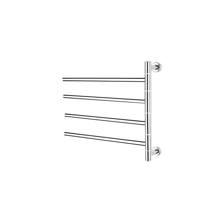 壁掛けタオルウォーマー タオルハンガー+簡易乾燥 ステンレス鋼 180°回転可能 40W