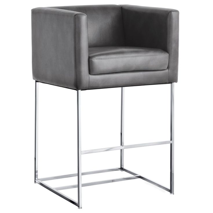 Club Agency Bar Stool With Cushion