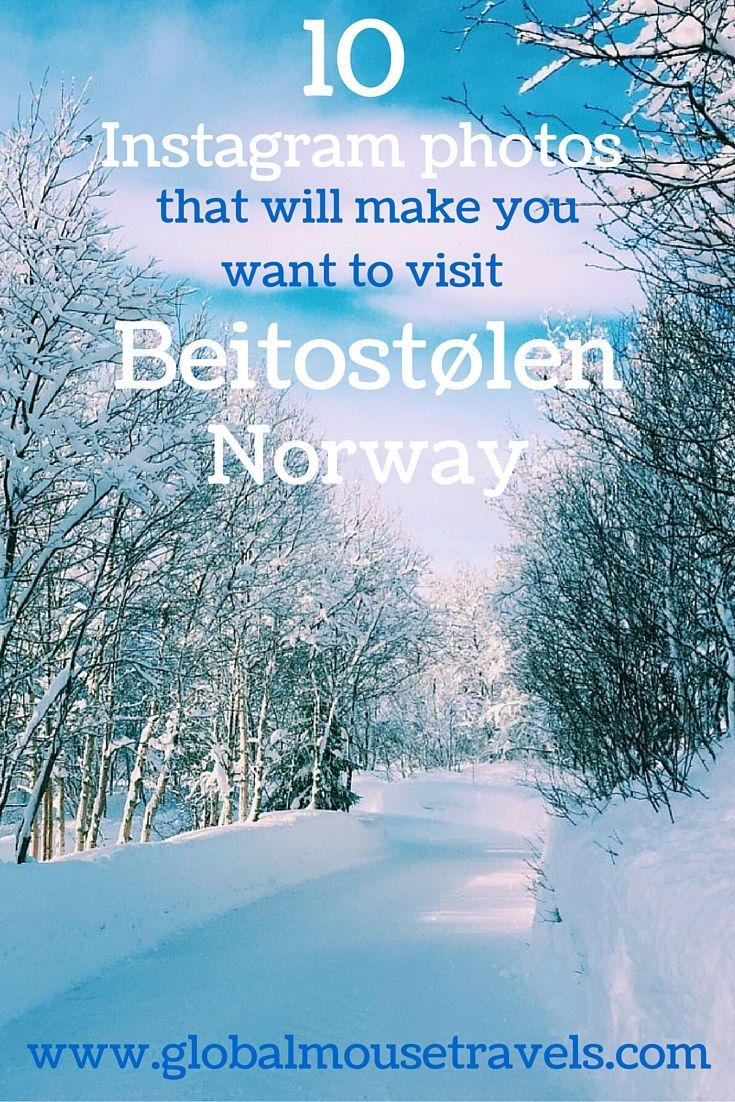 10 Instagram photos that will make you want to visit Beitostolen, Norway right now. We fell in love with this winter wonderaland. Click above to find out why.