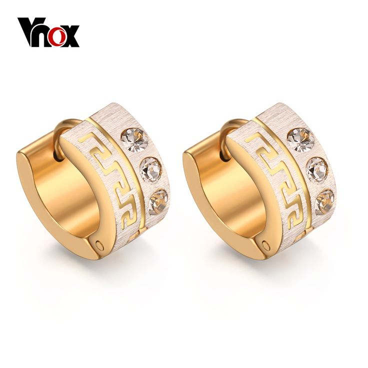 Cheap gold ruby stud earrings, Buy Quality gold rhinestone earrings directly from China earrings rose Suppliers: