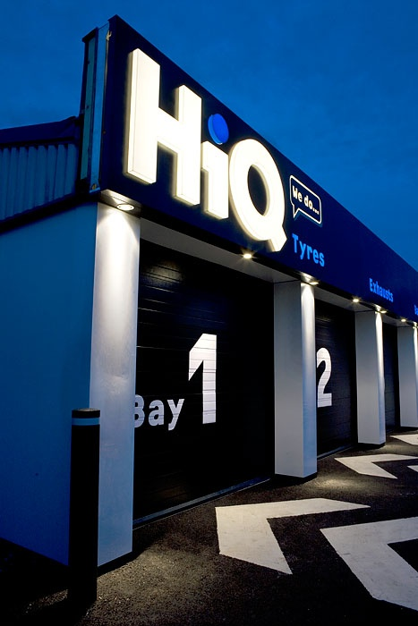 Fitch Hiq Nottingham Garage Design Warehouse Design