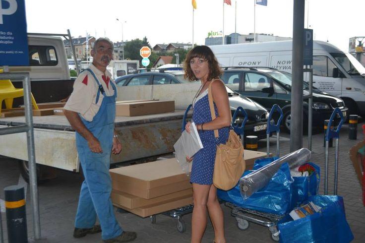 Zakupy zrobione, pakujemy i jedziemy.