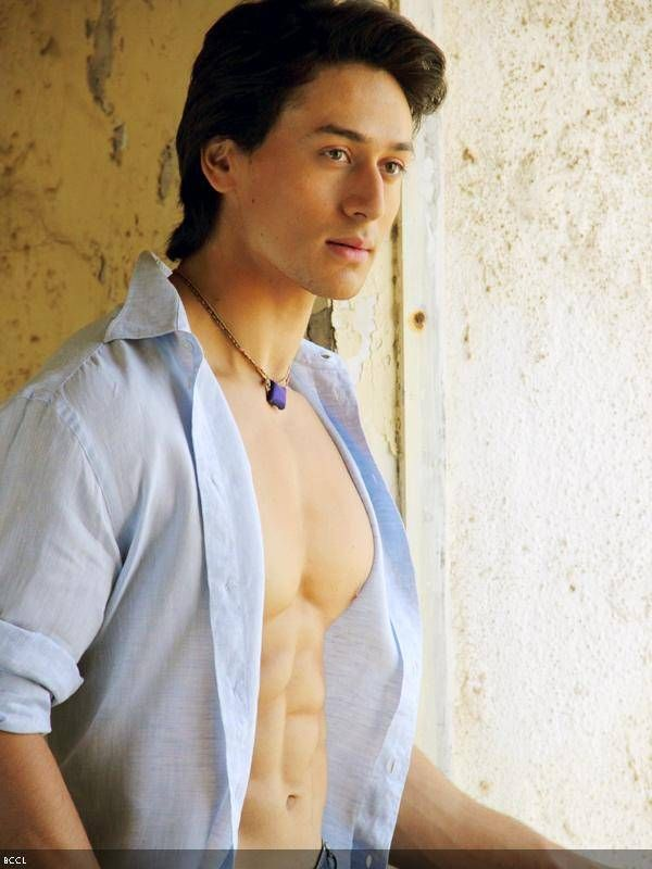 Tiger Shroff:  It's embarrassing, but my facial hair growth is very less - Times Of India