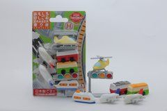 Iwako Vehicles - Blister Pack